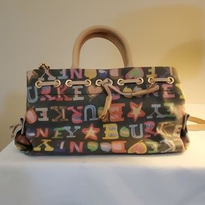 Dooney and Bourke bag with cross body strap